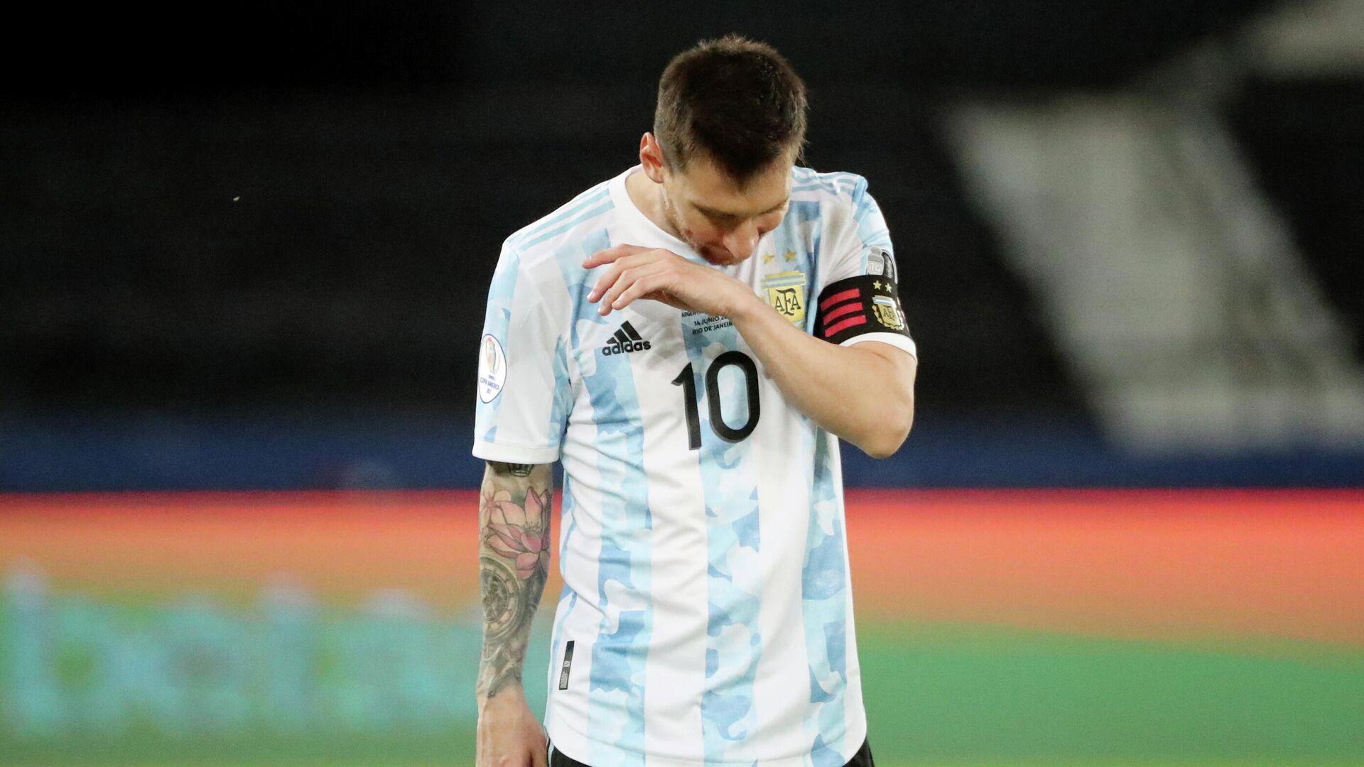 Leo Messi, futbolista argentino - Sputnik Mundo, 1920, 15.06.2021