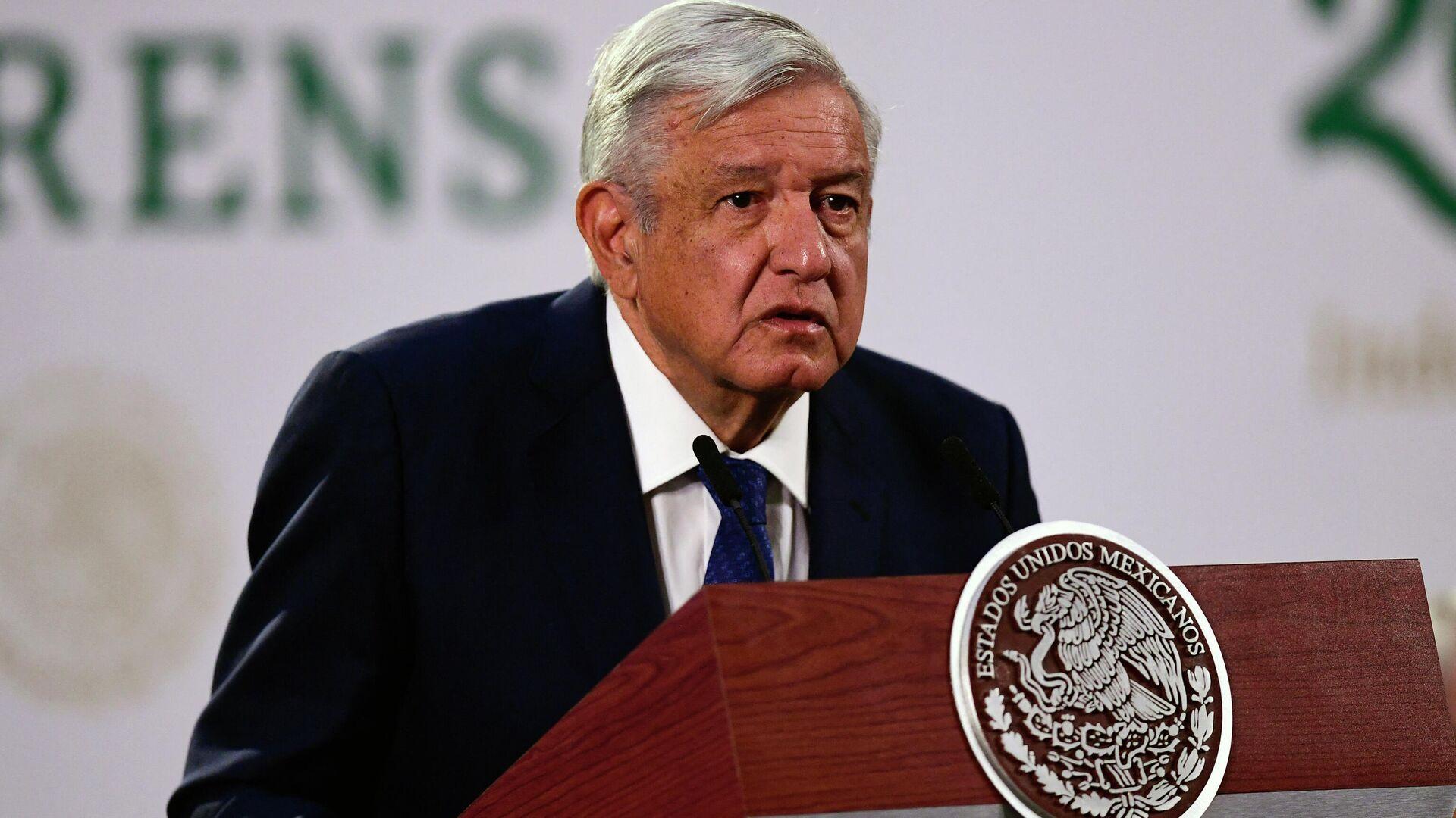 Andrés Manuel López Obrador, presidente de México - Sputnik Mundo, 1920, 24.06.2021