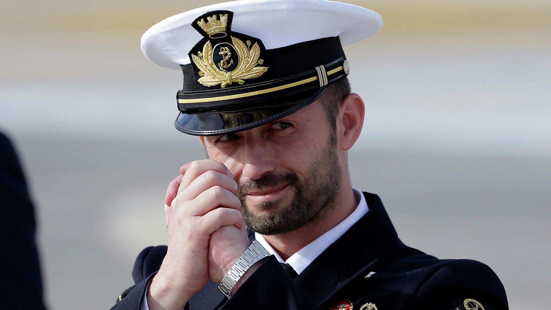 Salvatore Girone, miembro del regimiento San Marco de la Marina Militar Italiana - Sputnik Mundo, 1920, 15.06.2021