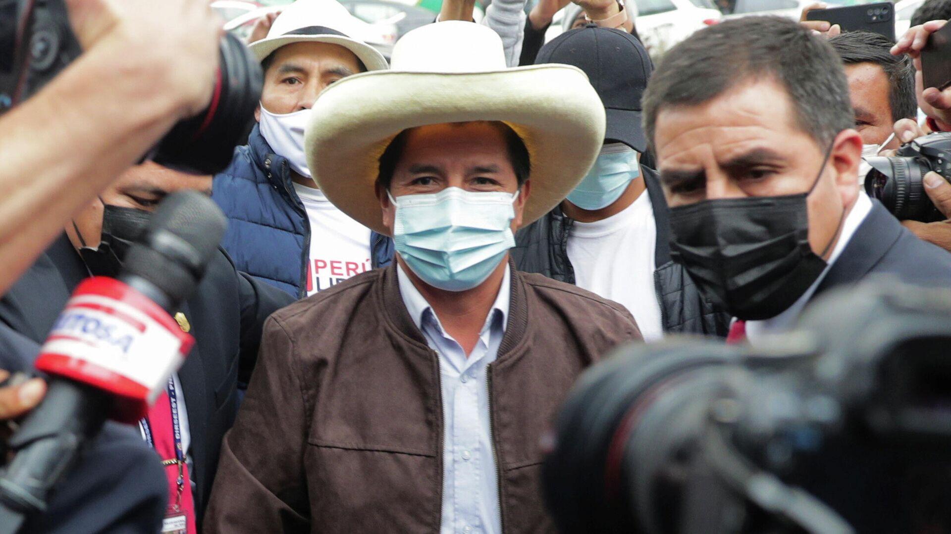 Pedro Castillo, candidato con más posibilidades de ser el presidente de Perú - Sputnik Mundo, 1920, 25.06.2021