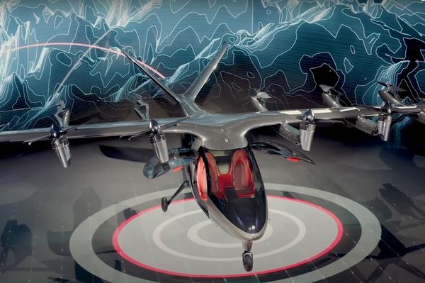 Aeronave eléctrica Maker de Archer - Sputnik Mundo