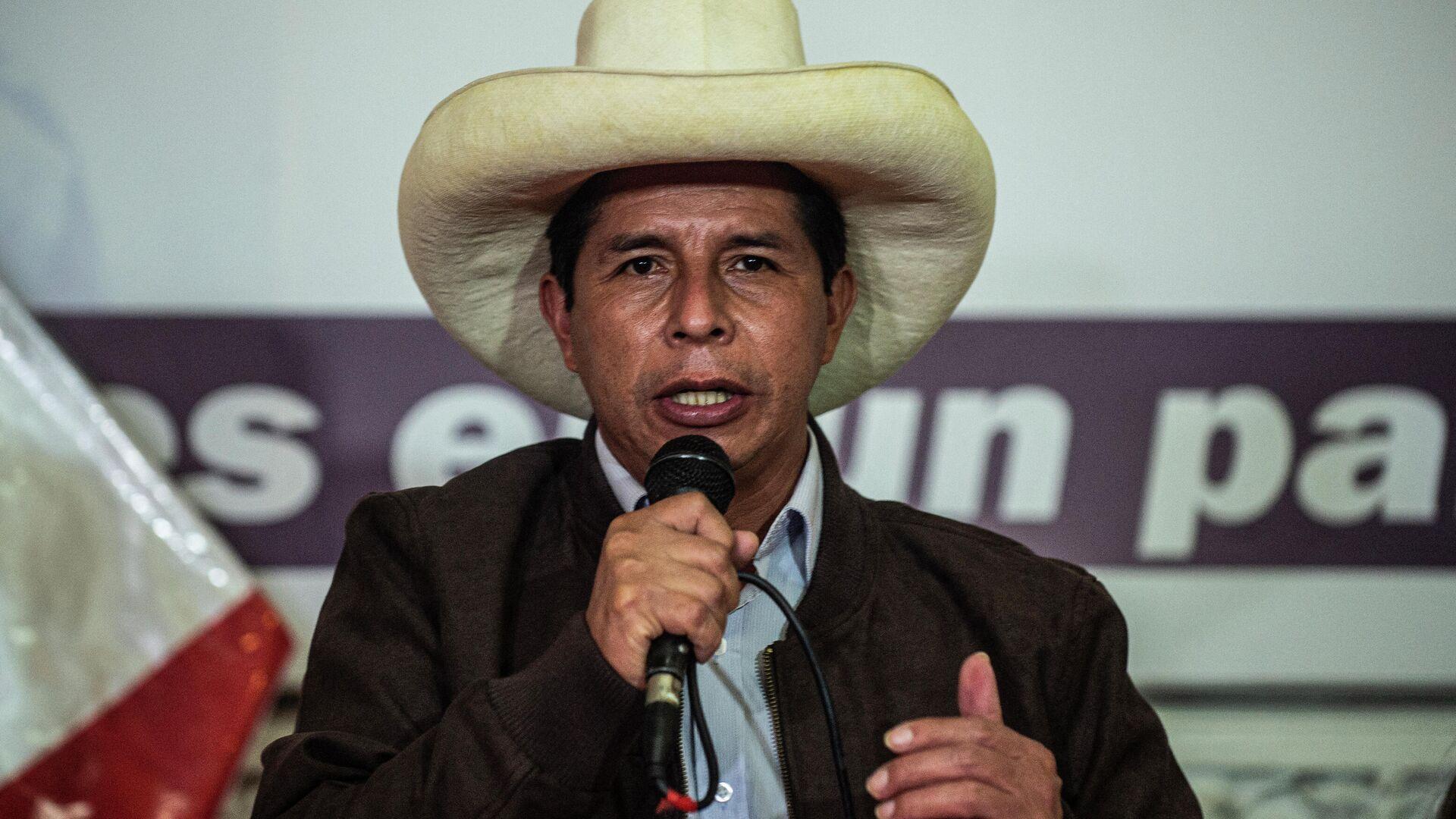 Pedro Castillo, presidente electo de Perú - Sputnik Mundo, 1920, 23.08.2021