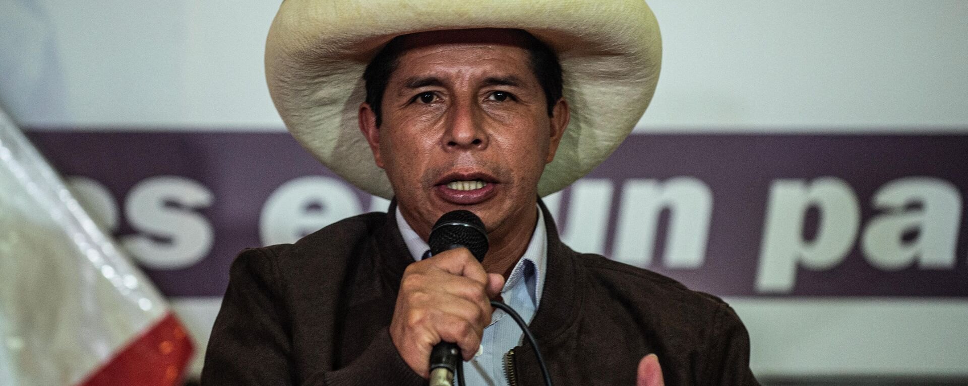 Pedro Castillo, presidente electo de Perú - Sputnik Mundo, 1920, 16.06.2021