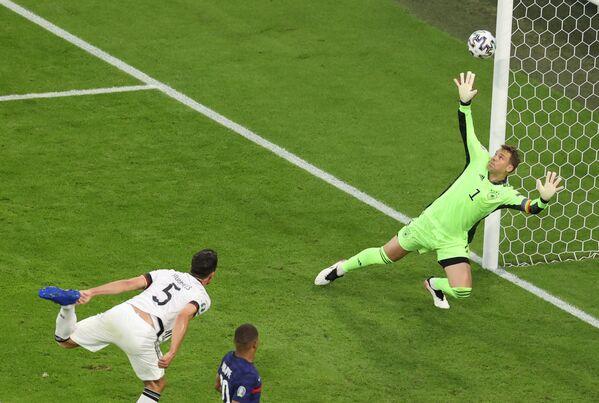 El único gol del encuentro lo metió el defensa alemán Mats Hummels, en las portería de su propio equipo en el minuto 20 del encuentro.  - Sputnik Mundo