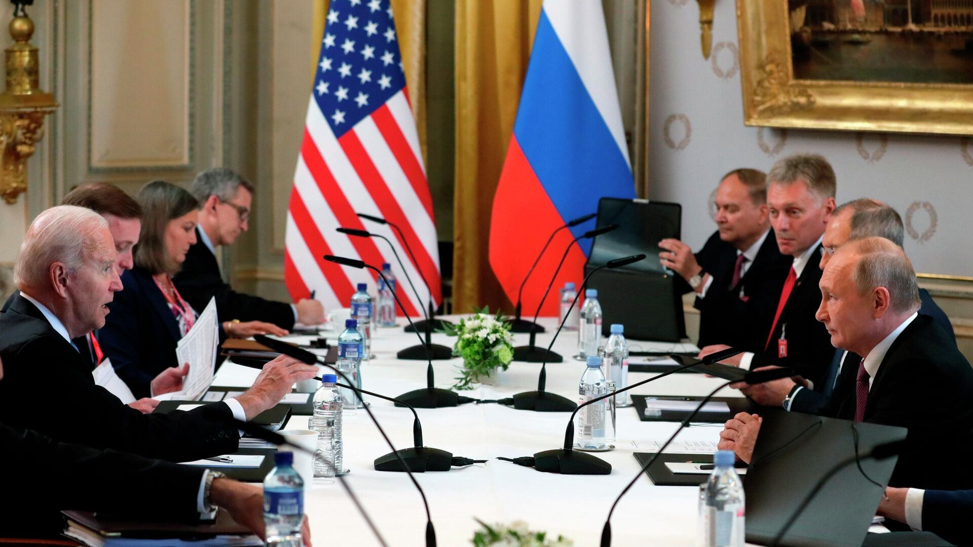 La cumbre entre Joe Biden y Vladímir Putin en Ginebra - Sputnik Mundo, 1920, 16.06.2021