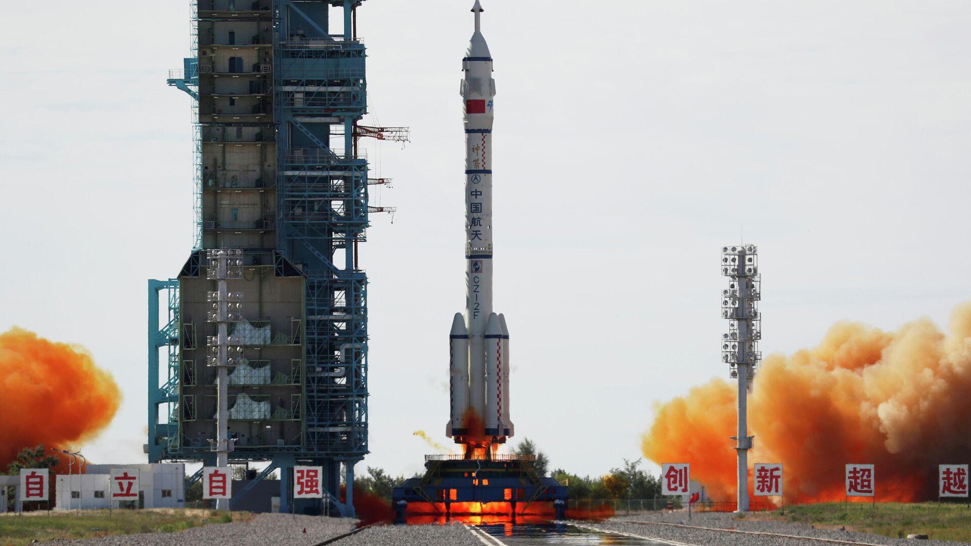 El lanzamiento de la nave tripulada Shenzhou-12, el 17 de junio de 2021 - Sputnik Mundo, 1920, 16.06.2021