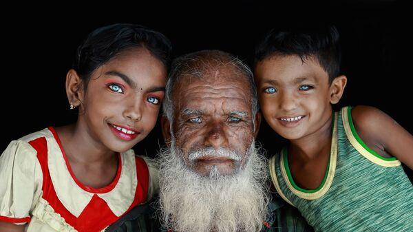 Работа бангладешского фотографа Muhammad Amdad Hossain Прекрасные глаза, вошедшая в шорт-лист конкурса имени Андрея Стенина в категории  Портрет. Герой нашего времени, одиночные фотографии - Sputnik Mundo
