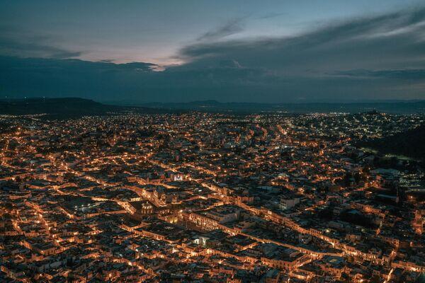 La  obra de la serie 'Perder el control de México' de Luis Antonio Rojas, México. - Sputnik Mundo
