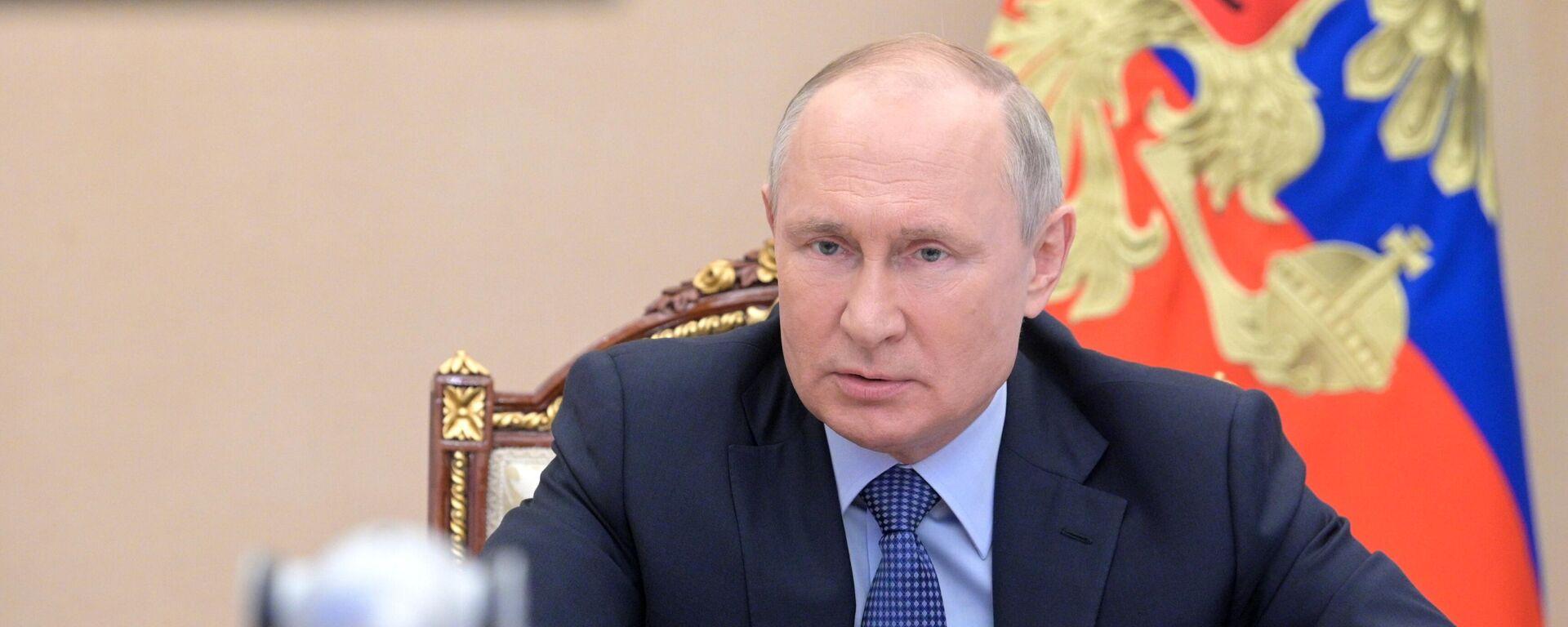 Vladímir Putin, presidente ruso - Sputnik Mundo, 1920, 17.06.2021