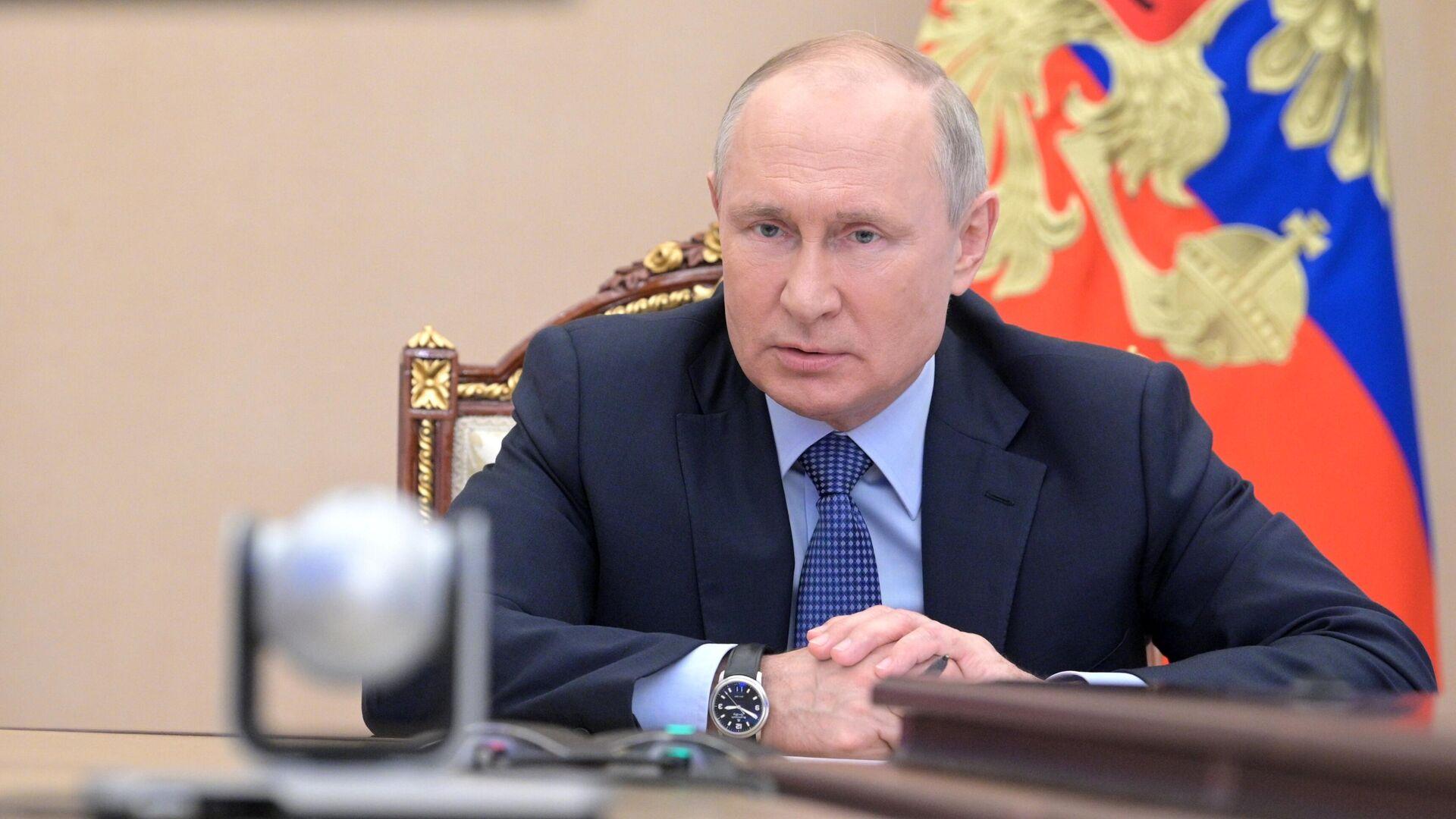 Vladímir Putin, presidente ruso - Sputnik Mundo, 1920, 01.07.2021