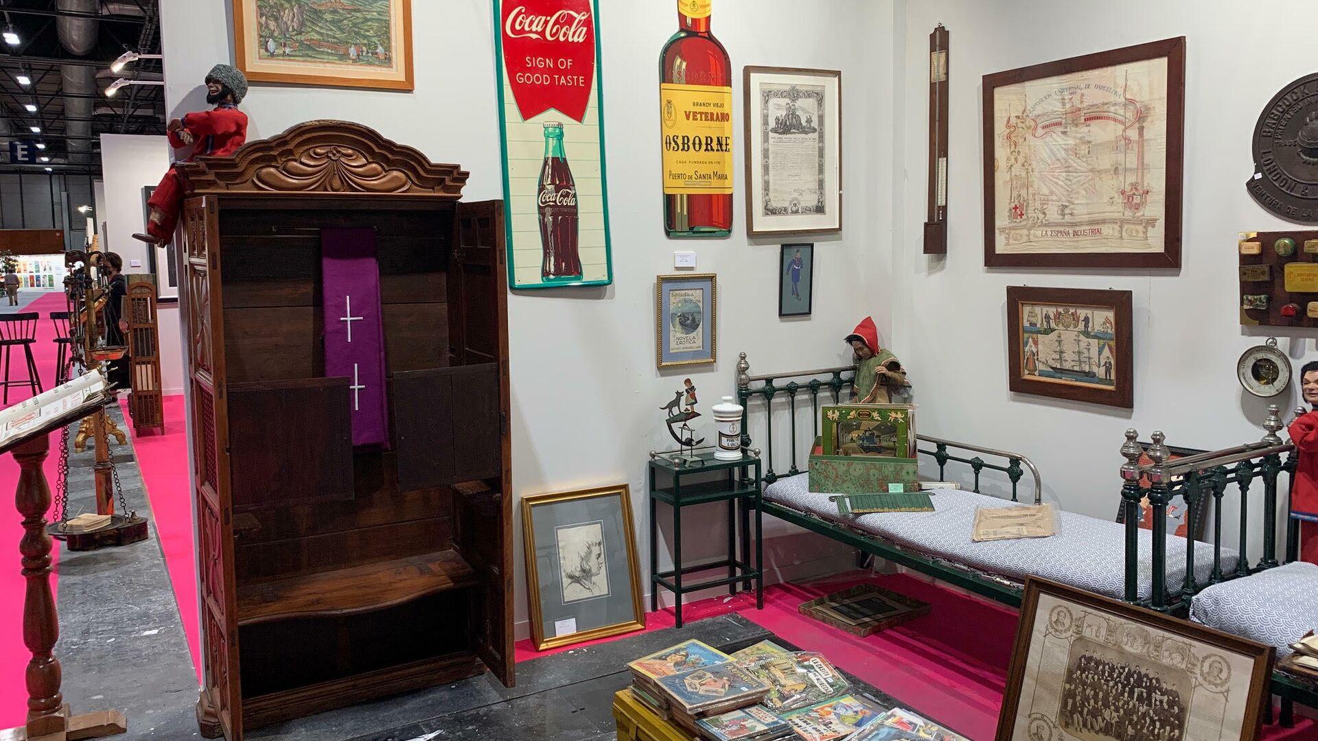 Feria Antik Passion Almoneda 2021 en Madrid - Sputnik Mundo, 1920, 18.06.2021