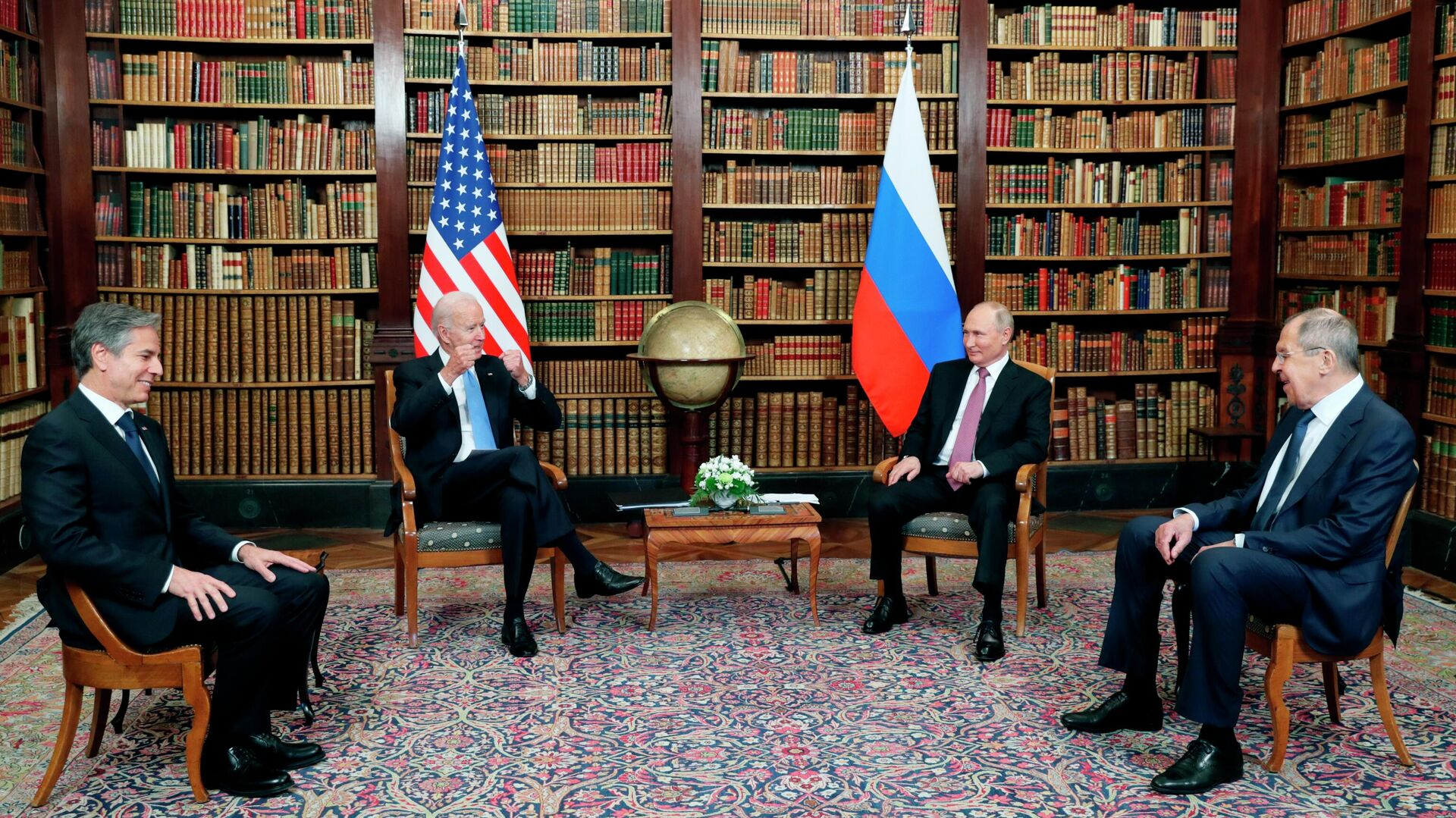 La cumbre entre Joe Biden y Vladímir Putin en Ginebra - Sputnik Mundo, 1920, 18.06.2021
