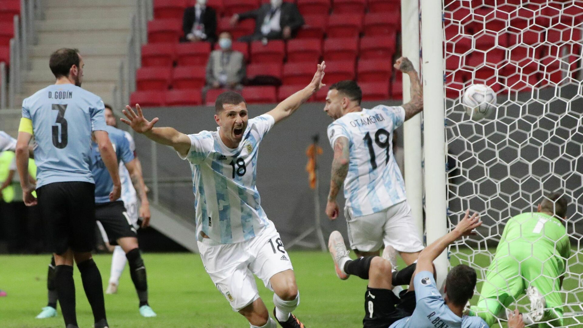 Argentina vs. Uruguay. - Sputnik Mundo, 1920, 19.06.2021