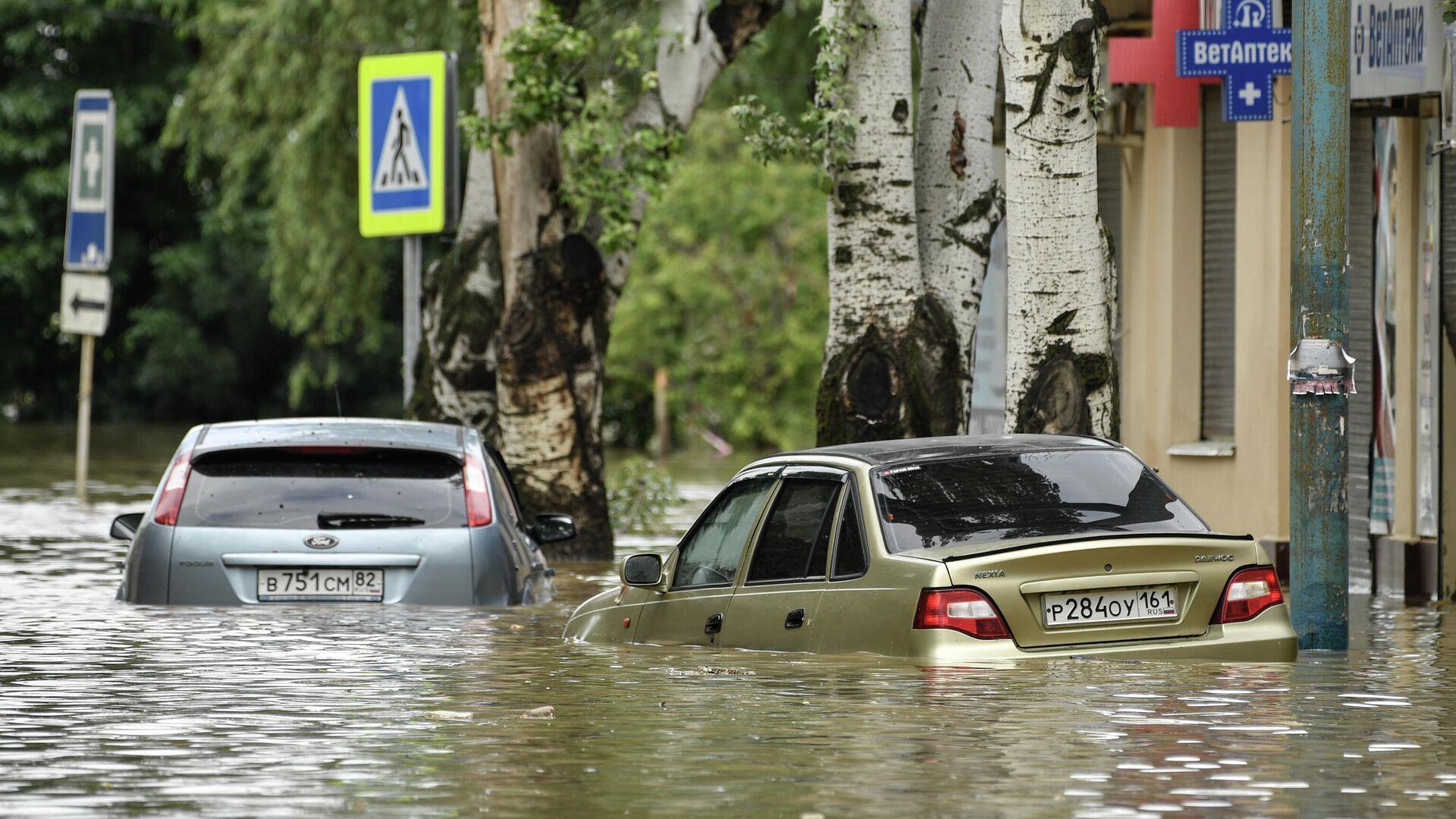 Inundaciones en Crimea - Sputnik Mundo, 1920, 19.06.2021
