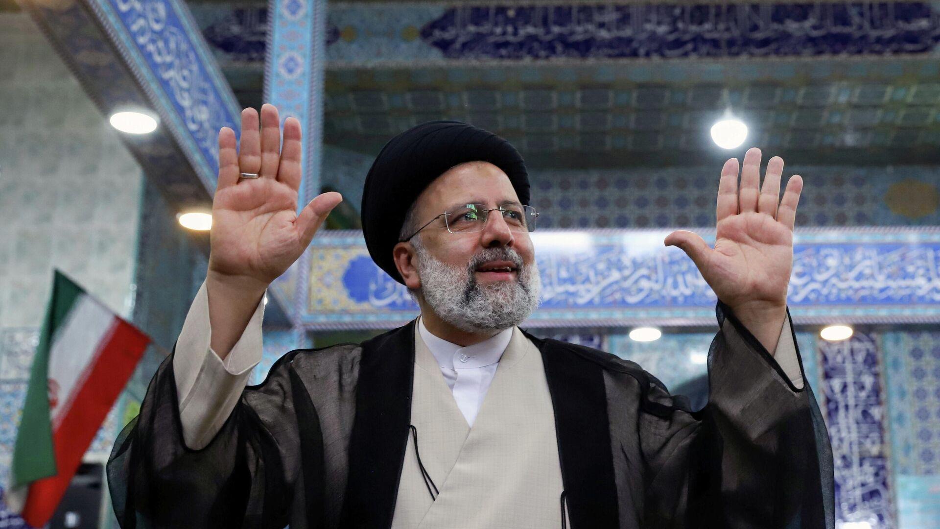 Ibrahim Raisi, candidato presidencial iraní - Sputnik Mundo, 1920, 19.06.2021