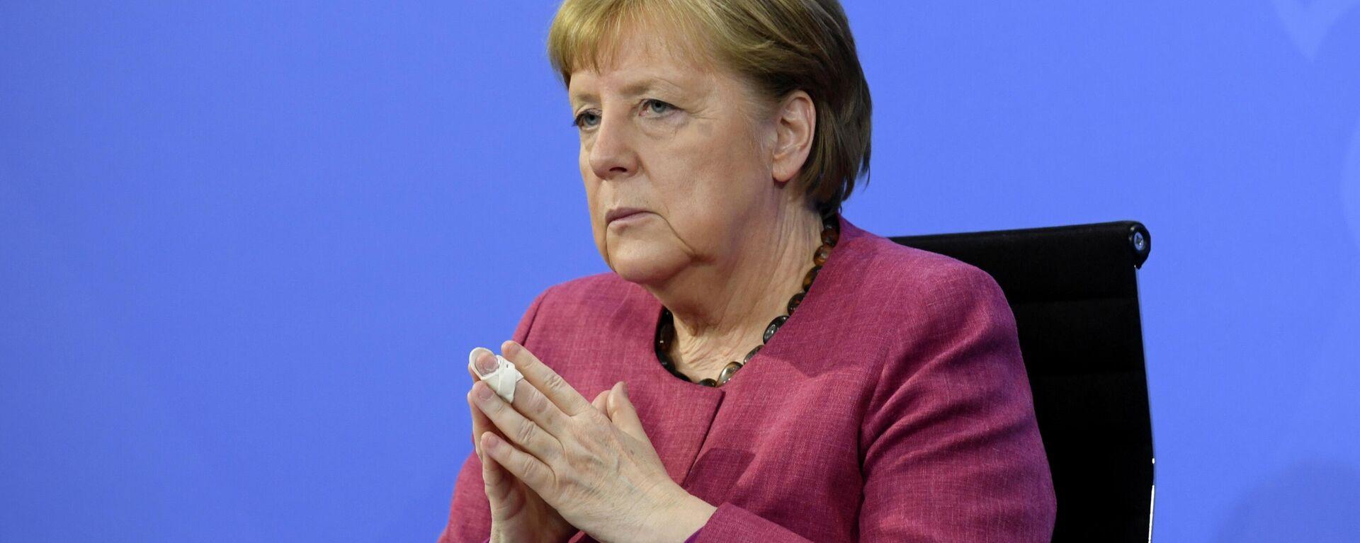 Angela Merkel, canciller de Alemania - Sputnik Mundo, 1920, 19.06.2021