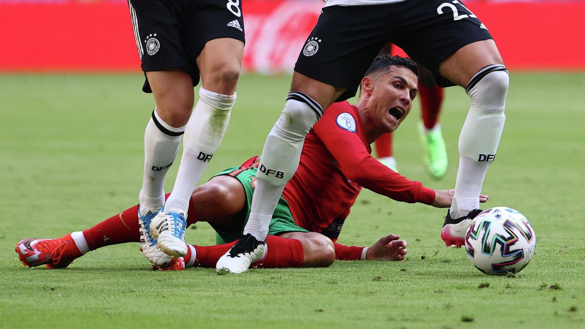 El partido entre Portugal y Alemania - Sputnik Mundo, 1920, 19.06.2021