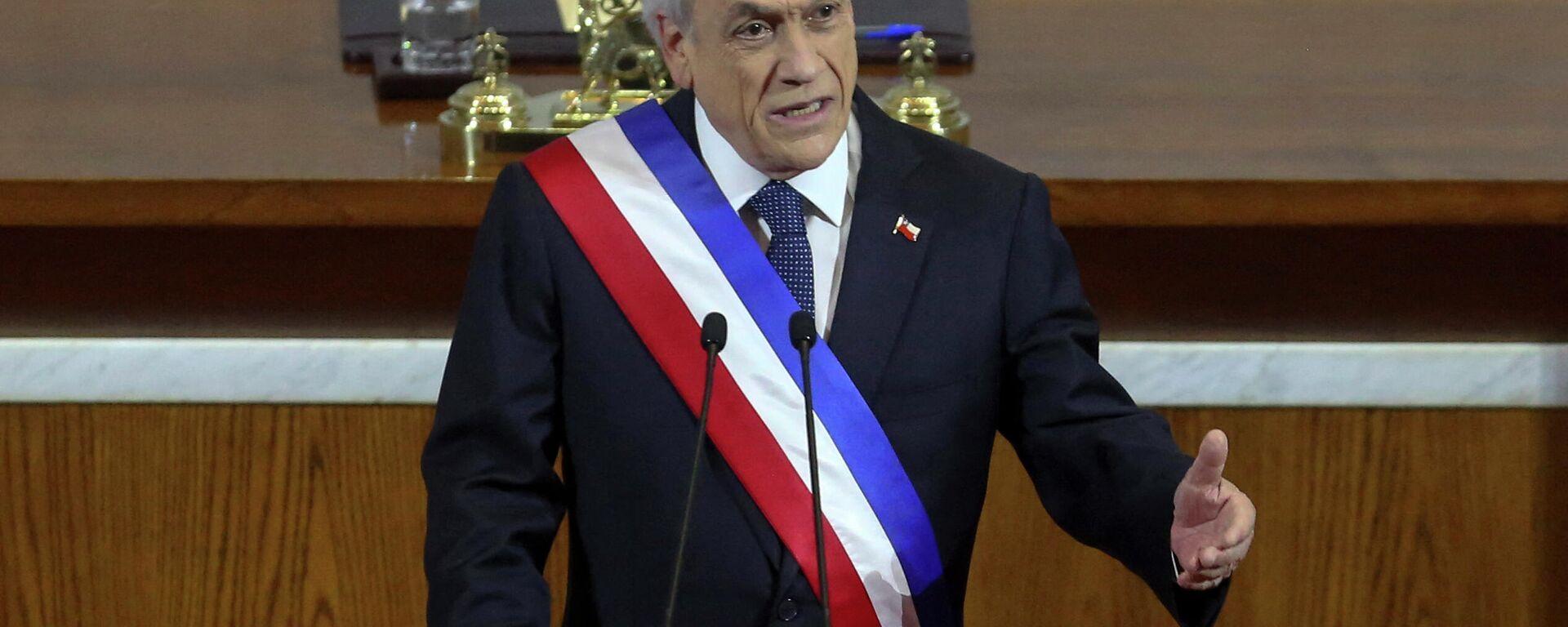Sebastián Piñera, presidente de Chile - Sputnik Mundo, 1920, 19.07.2021