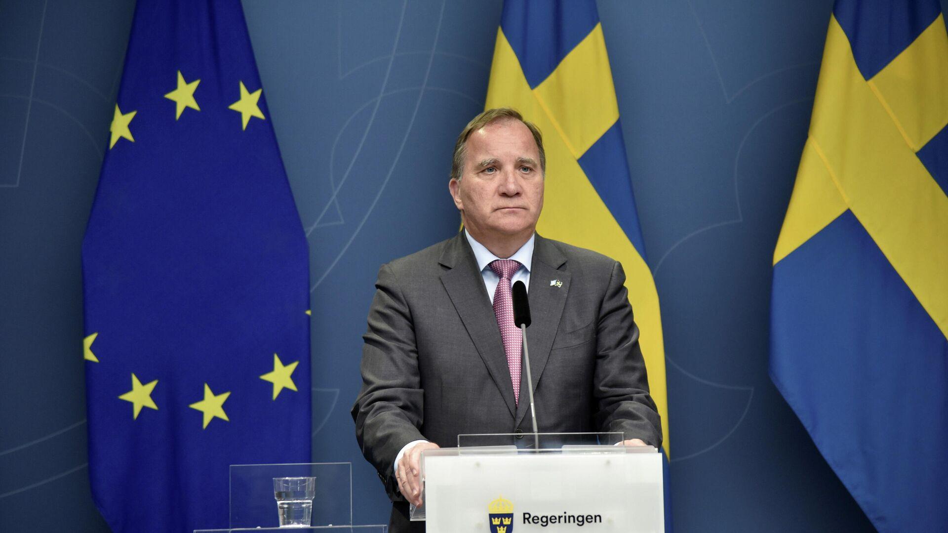Stefan Lofven, primer ministro de Suecia - Sputnik Mundo, 1920, 21.06.2021