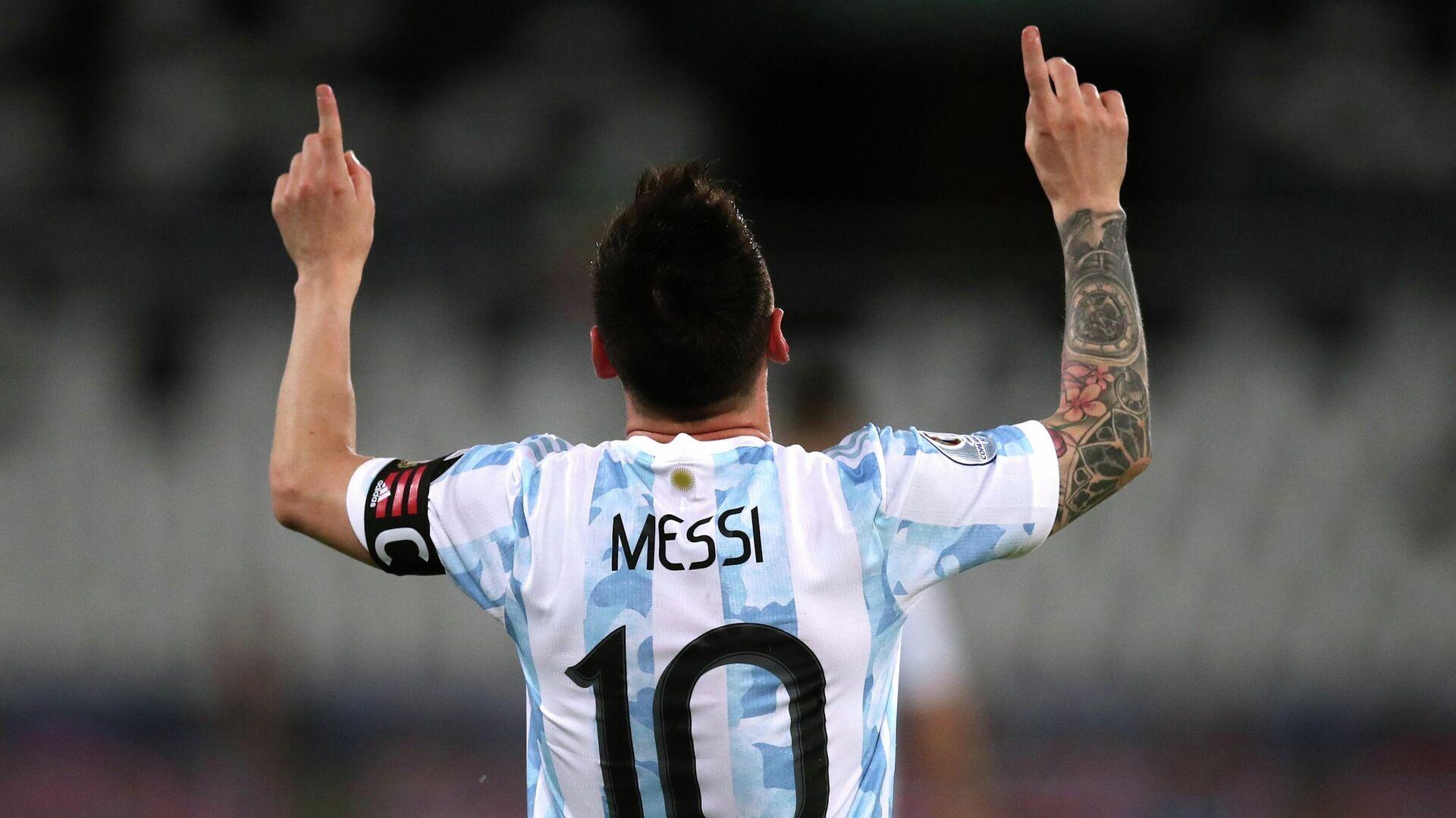 Lionel Messi en la Copa América 2021 - Sputnik Mundo, 1920, 21.06.2021