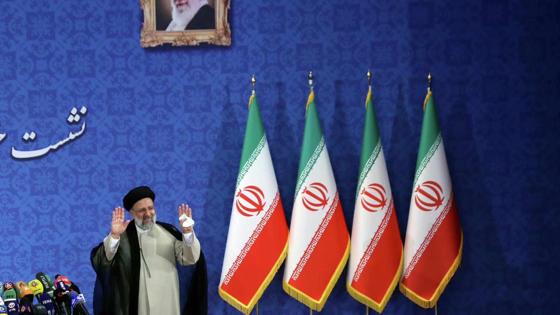 Ebrahim Raisí, presidente electo de Irán - Sputnik Mundo, 1920, 21.06.2021