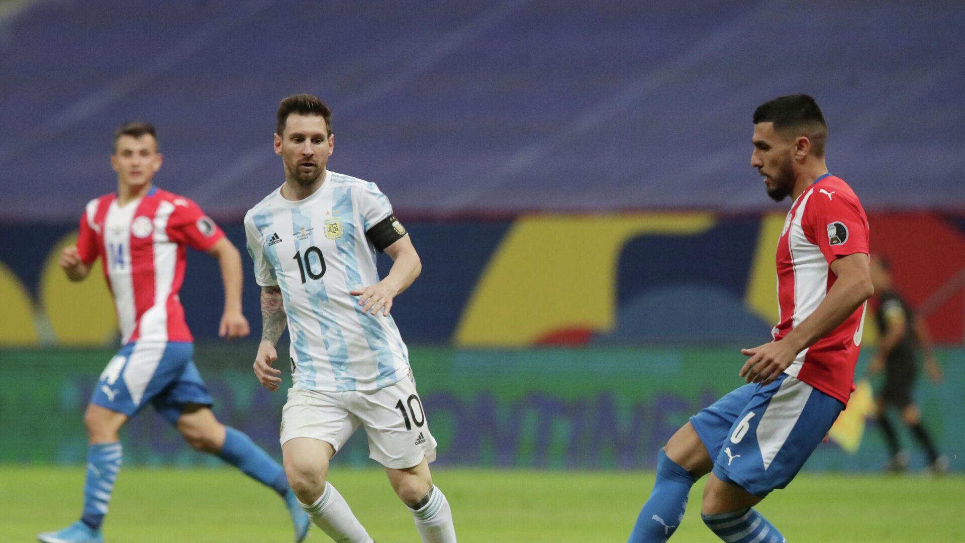 Argentina vs. Paraguay - Sputnik Mundo, 1920, 22.06.2021