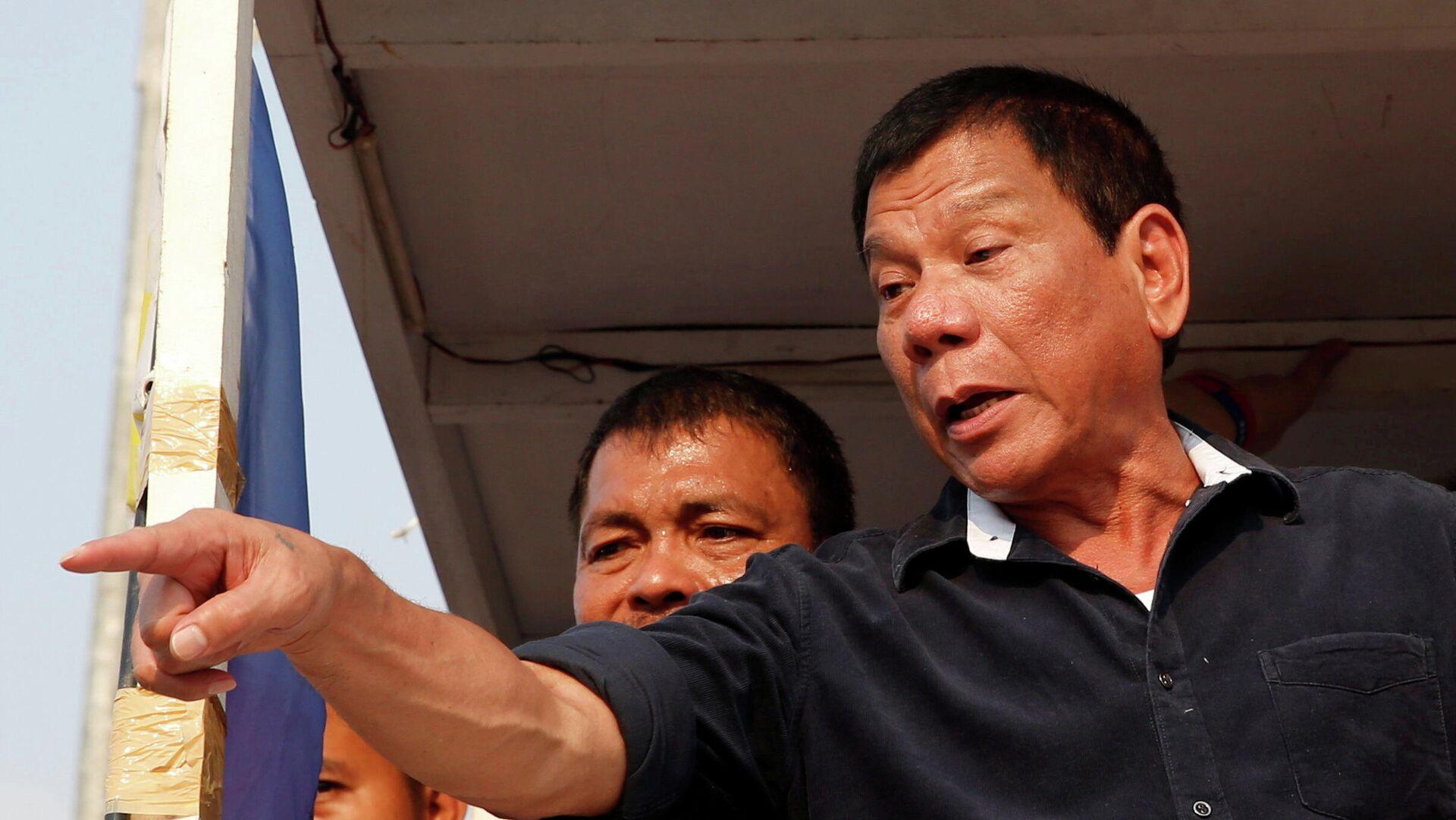 Rodrigo Duterte, presidente de Filipinas - Sputnik Mundo, 1920, 22.06.2021