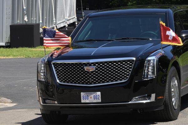 El Cadillac de Joe Biden - Sputnik Mundo