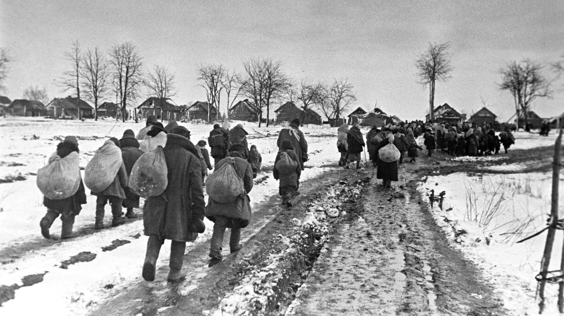 Ciudadanos soviéticos durante la Gran Guerra Patria - Sputnik Mundo, 1920, 22.06.2021