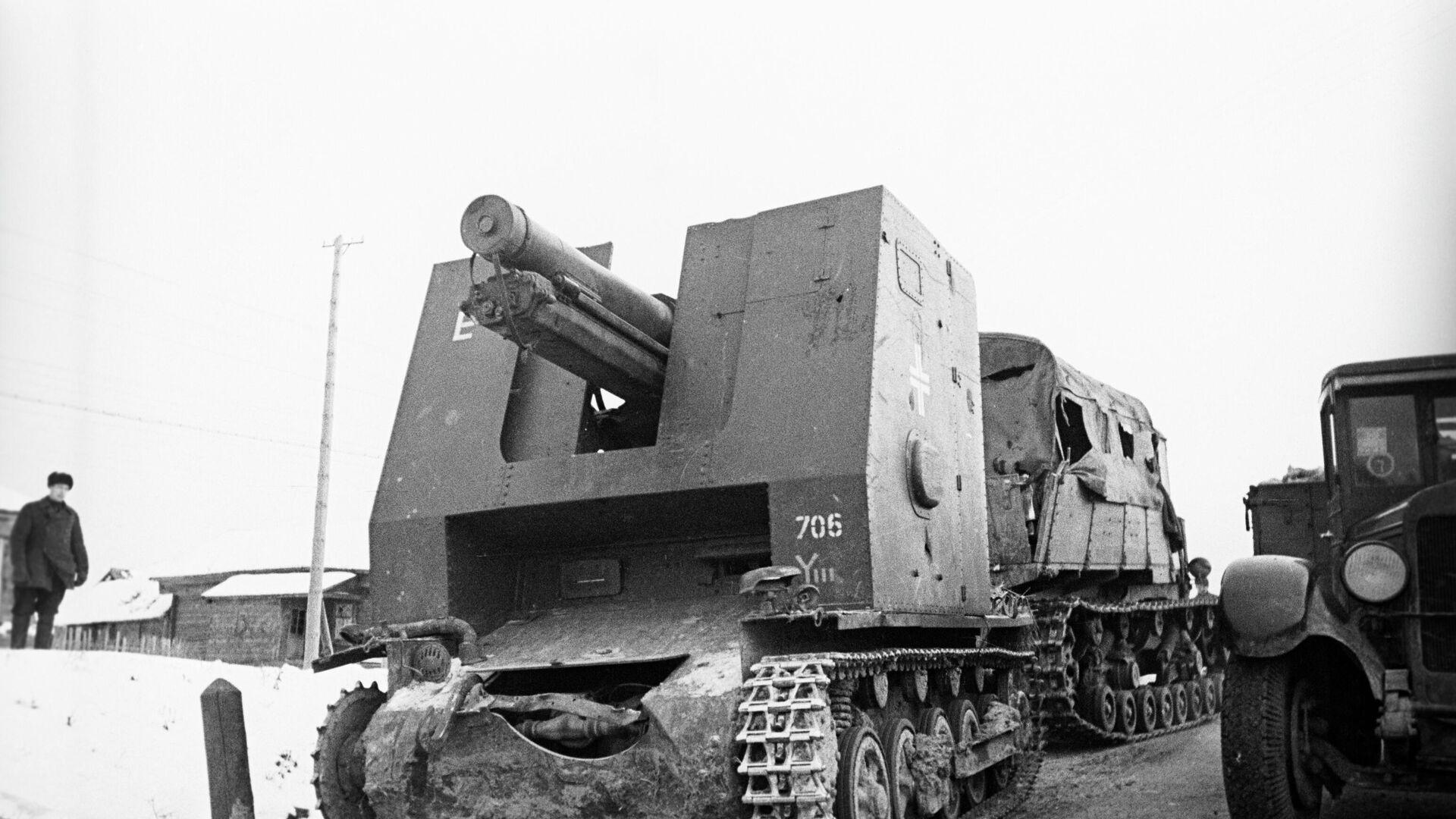 Vehículos militares nazis capturados en la batalla de Moscú - Sputnik Mundo, 1920, 22.06.2021