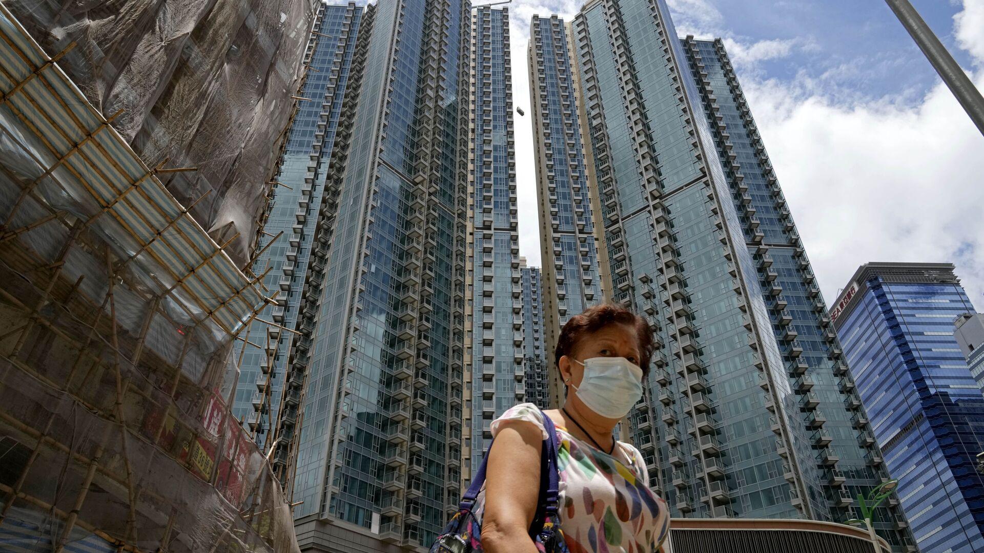 Zona residencial en Hong Kong - Sputnik Mundo, 1920, 01.07.2021