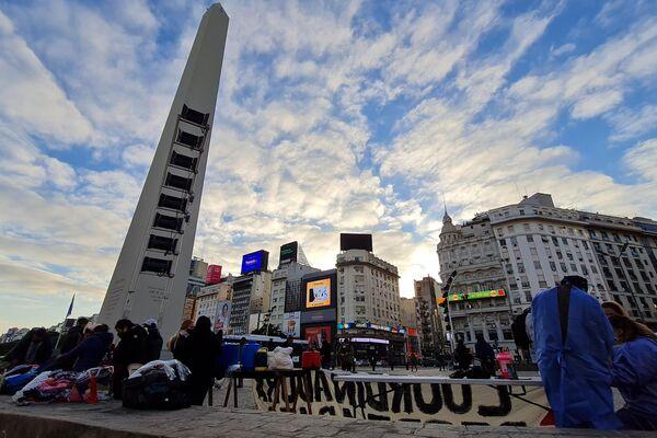Hubo 1.000 desayunos en Argentina para visibilizar el hambre de las personas en situación de calle y los pobres - Sputnik Mundo