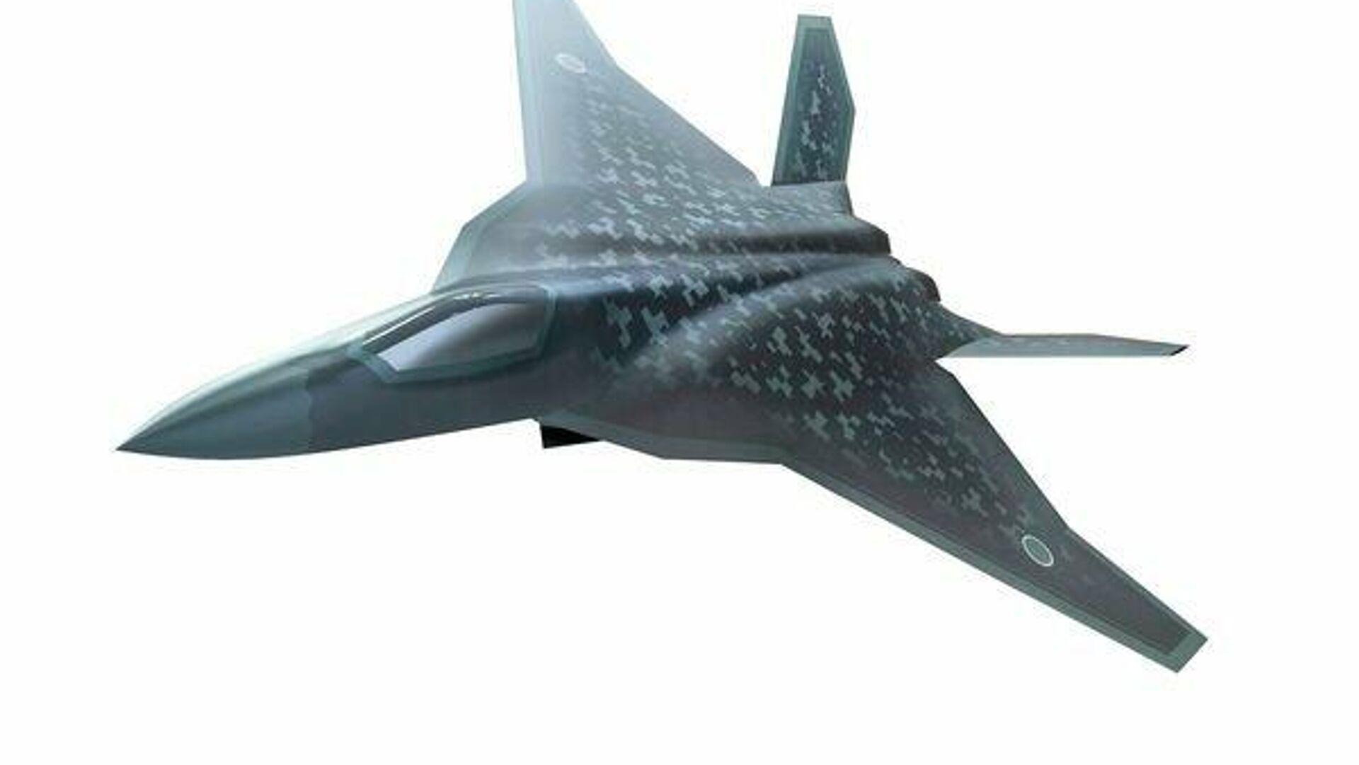 Concepto del caza de 6ª generación japonés F-X (ilustración gráfica) - Sputnik Mundo, 1920, 23.06.2021