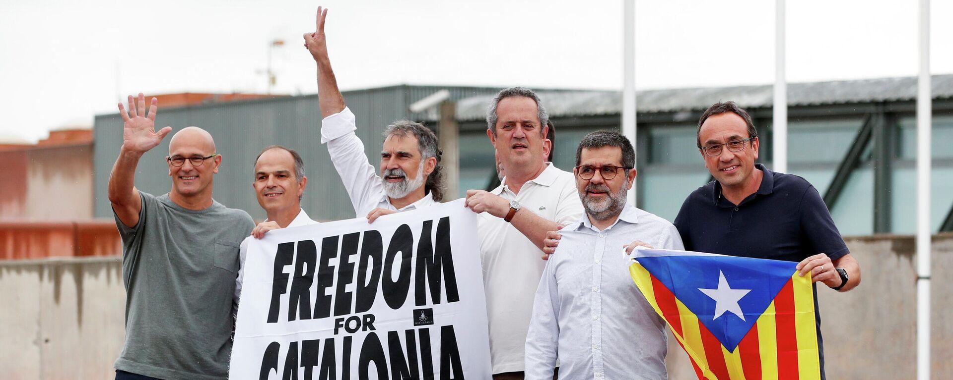 Los independentistas catalanes indultados - Sputnik Mundo, 1920, 23.06.2021