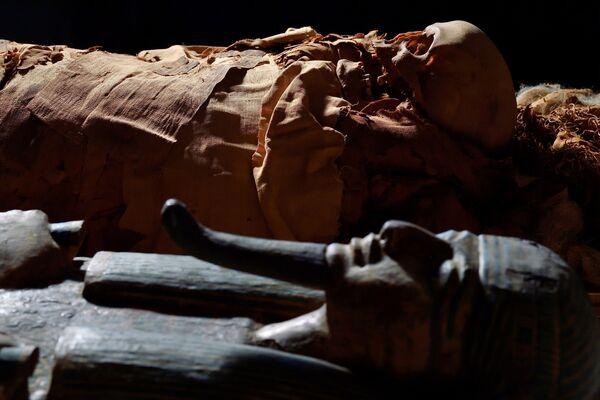 Los investigadores esperan que el análisis de los resultados de la tomografía ayude a conocer más sobre las tradiciones y las costumbres del antiguo Egipto de hace 3.000 años. Además, eso les brindará la oportunidad de establecer las circunstancias de la vida y la muerte del antiguo sacerdote egipcio y entender qué tipo de productos usaron para momificar el cuerpo. - Sputnik Mundo