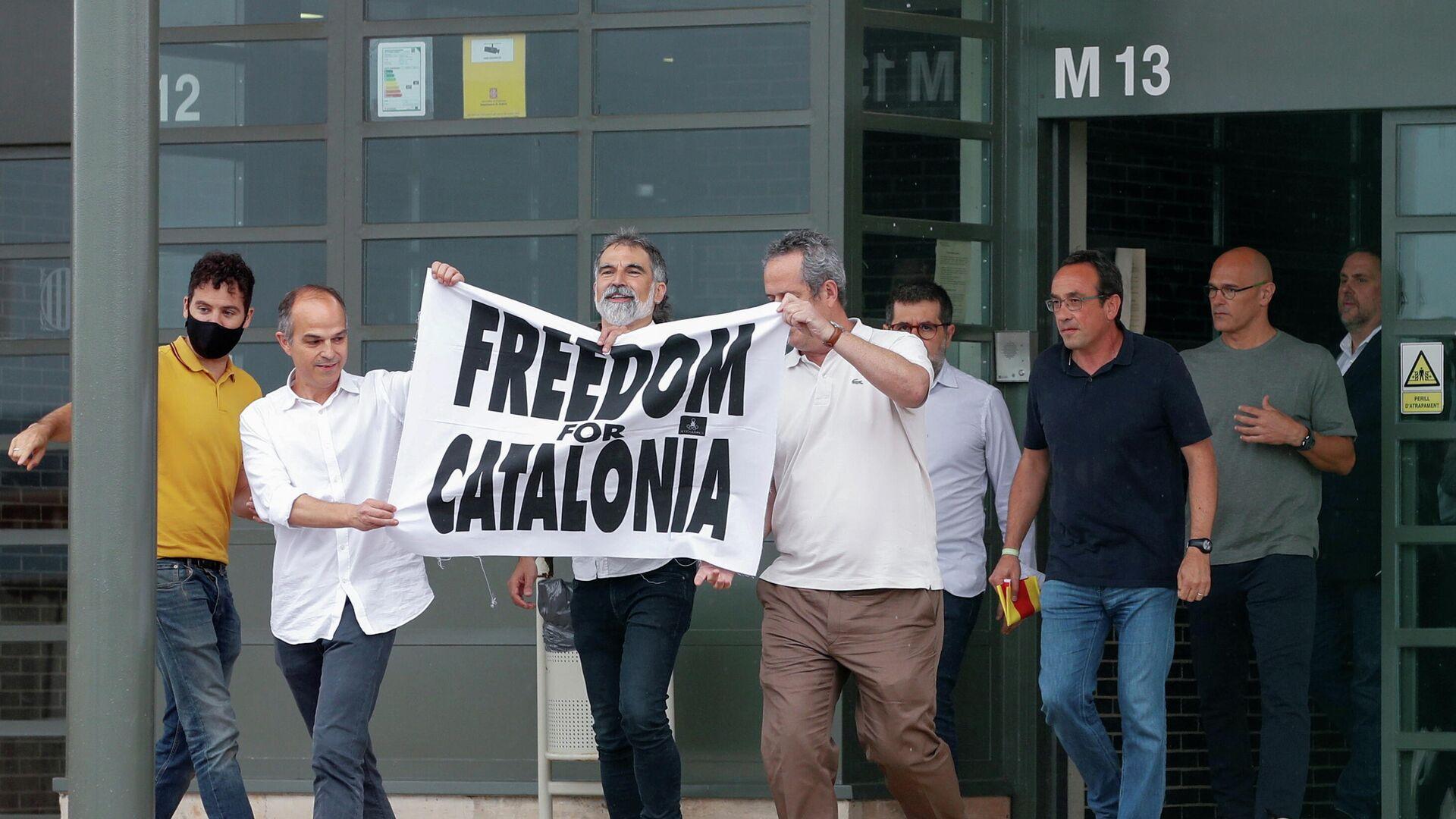 Los independentistas catalanes indultados - Sputnik Mundo, 1920, 06.07.2021