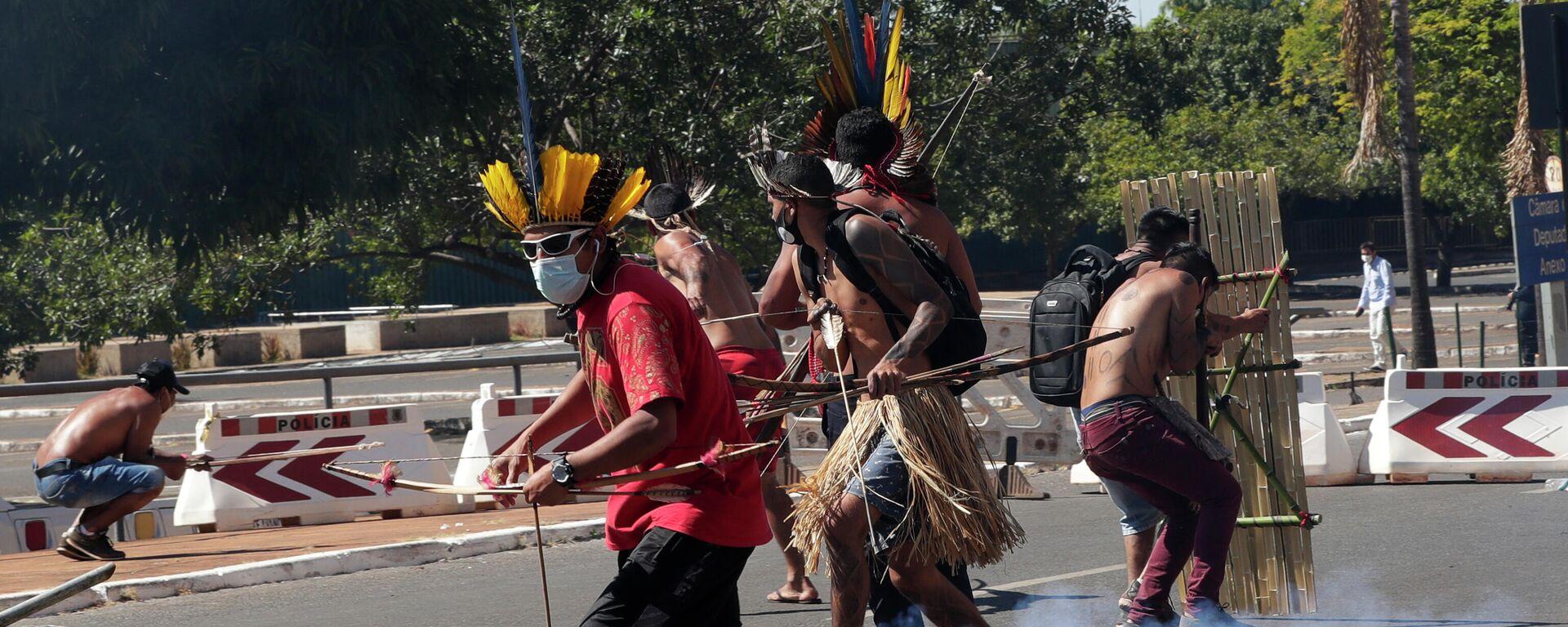 Protestas de indígenas de Brasil - Sputnik Mundo, 1920, 23.06.2021