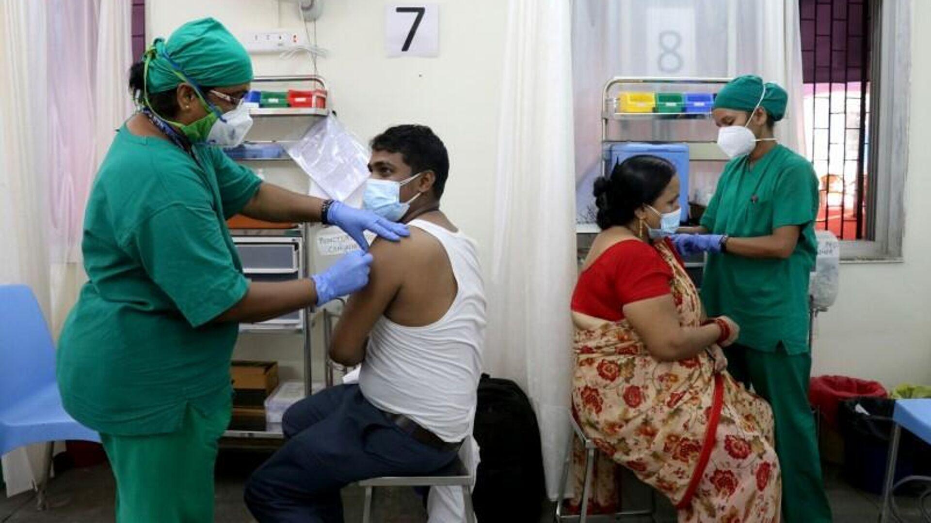 Vacunación en la India - Sputnik Mundo, 1920, 23.06.2021