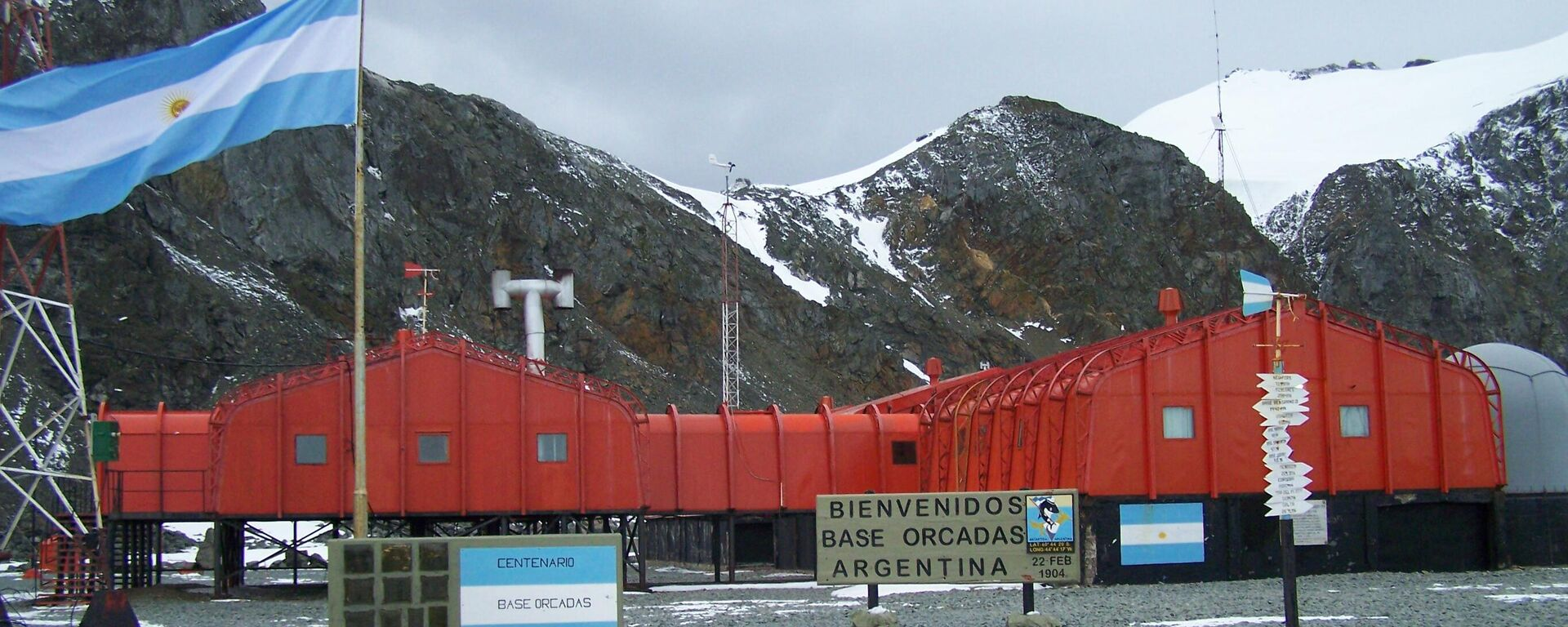Base Orcadas de Argentina en la Antártida - Sputnik Mundo, 1920, 23.06.2021