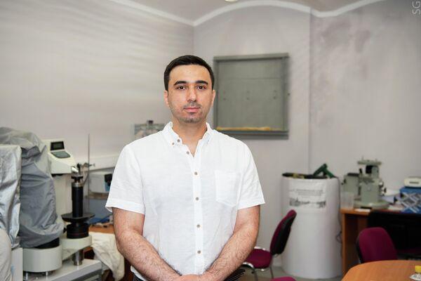 Torgom Akopián, investigador principal del Departamento de procesamiento de metales con presión de la NUST MISIS - Sputnik Mundo
