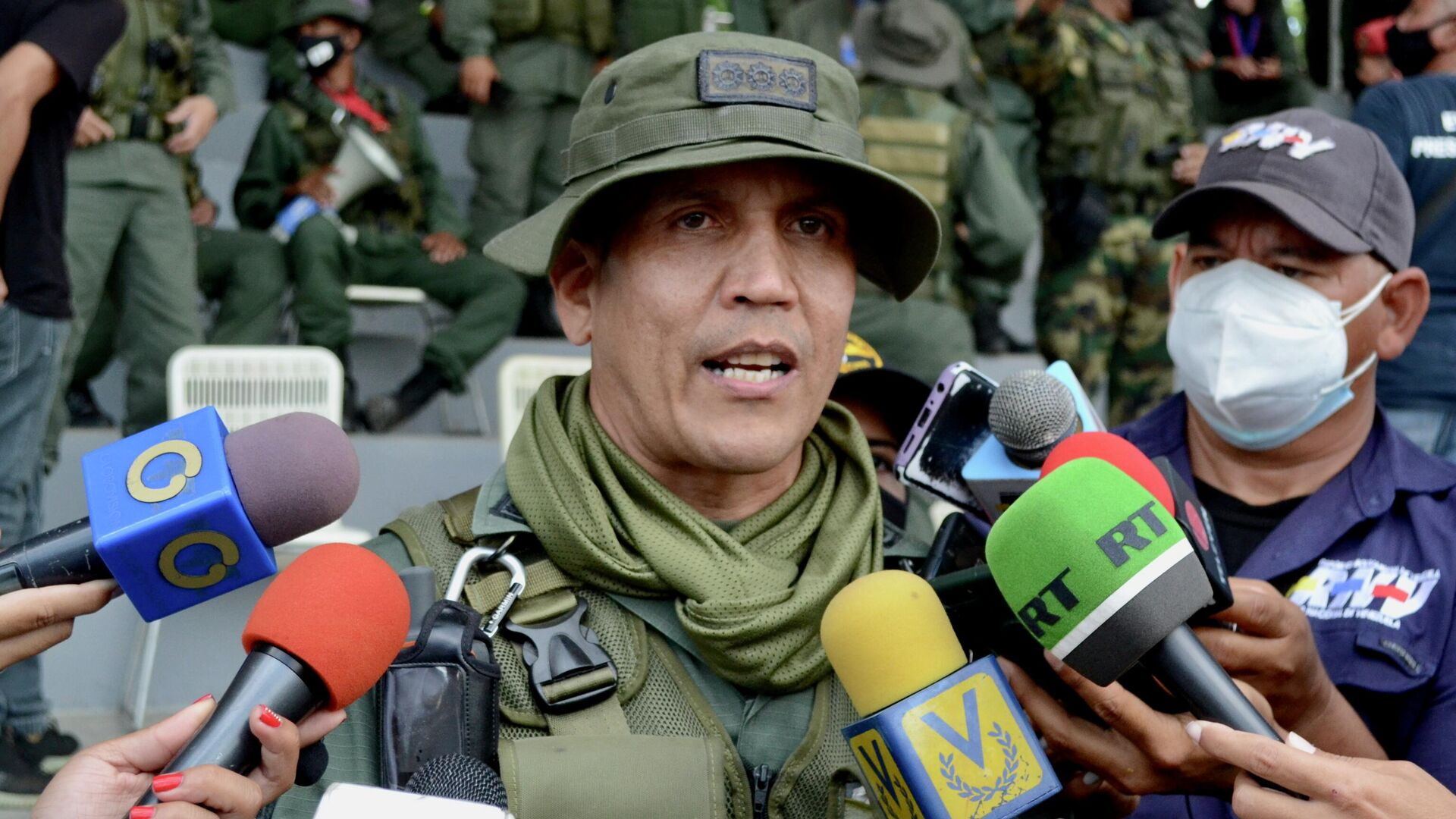 Comandante general del Ejército Bolivariano, Domingo Hernández Lares - Sputnik Mundo, 1920, 24.06.2021