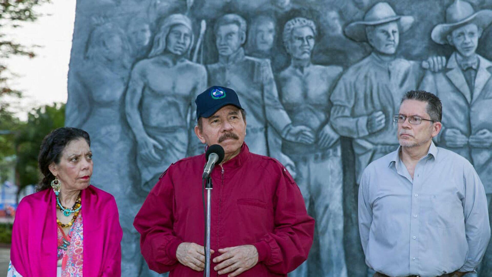 Ortega afirma que las recientes detenciones en Nicaragua fueron por atentar  contra la seguridad - 24.06.2021, Sputnik Mundo