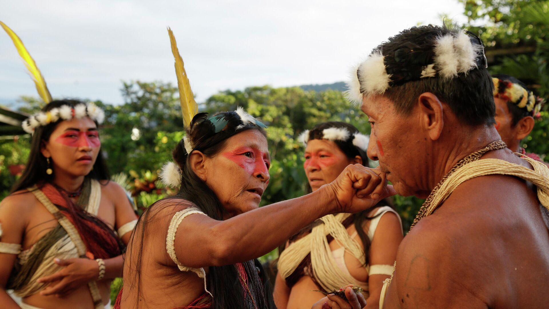 Indígenas Waorani de Ecuador - Sputnik Mundo, 1920, 24.06.2021