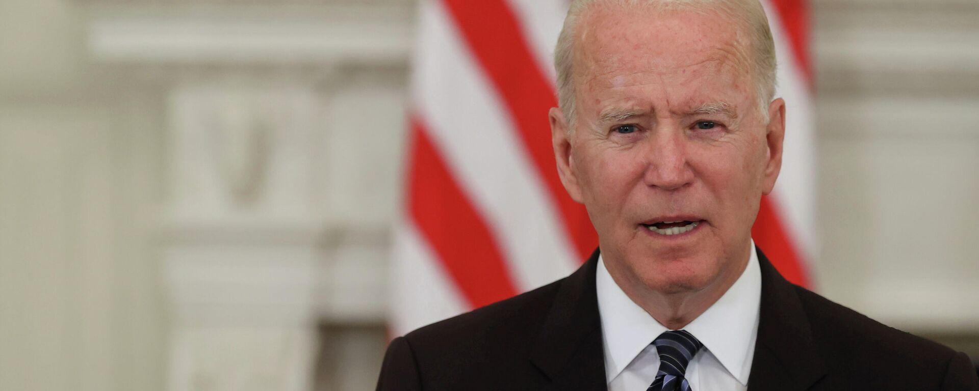 El presidente de EEUU, Joe Biden - Sputnik Mundo, 1920, 14.07.2021