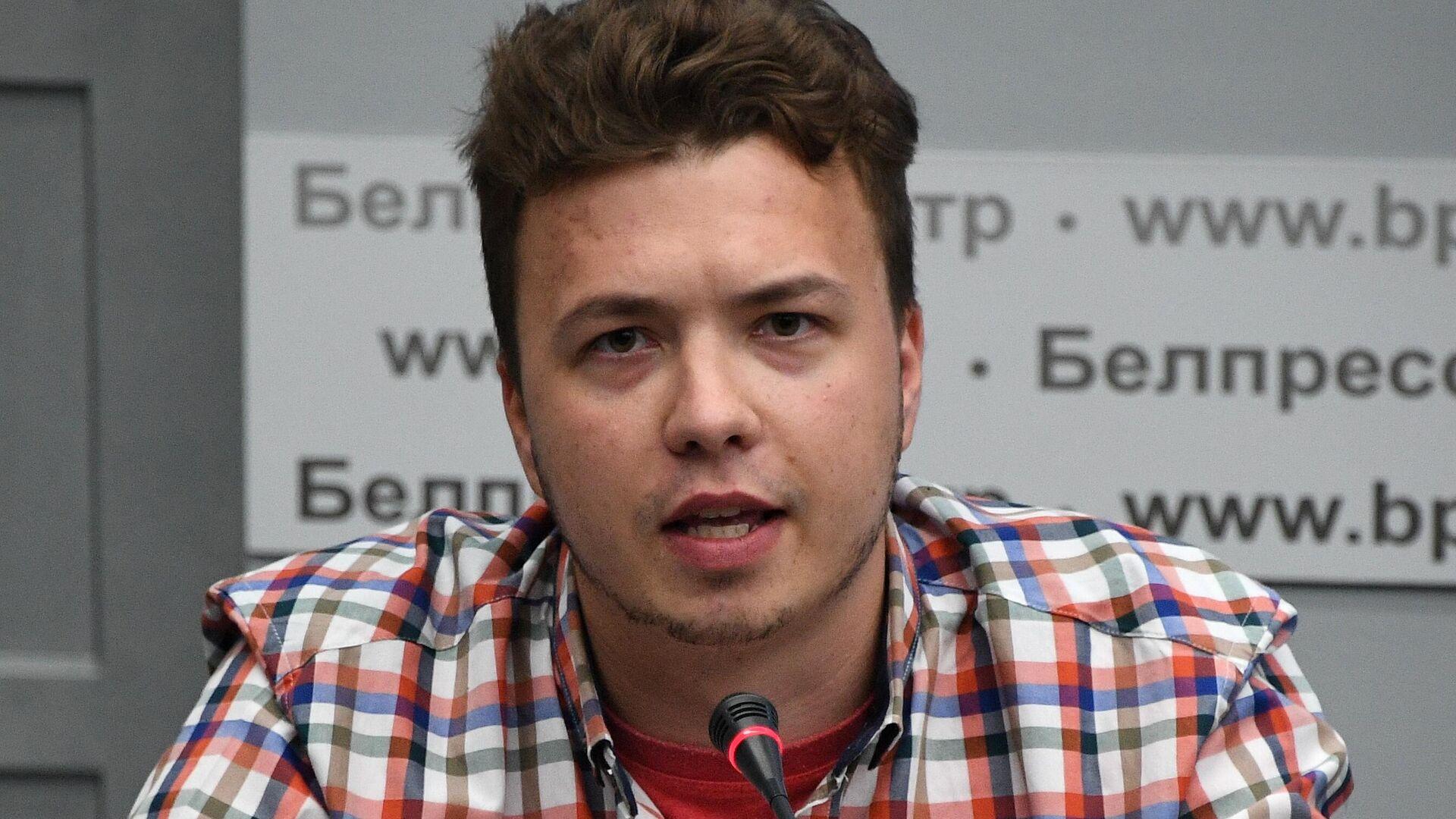 El periodista bielorruso Román Protasévich - Sputnik Mundo, 1920, 25.06.2021