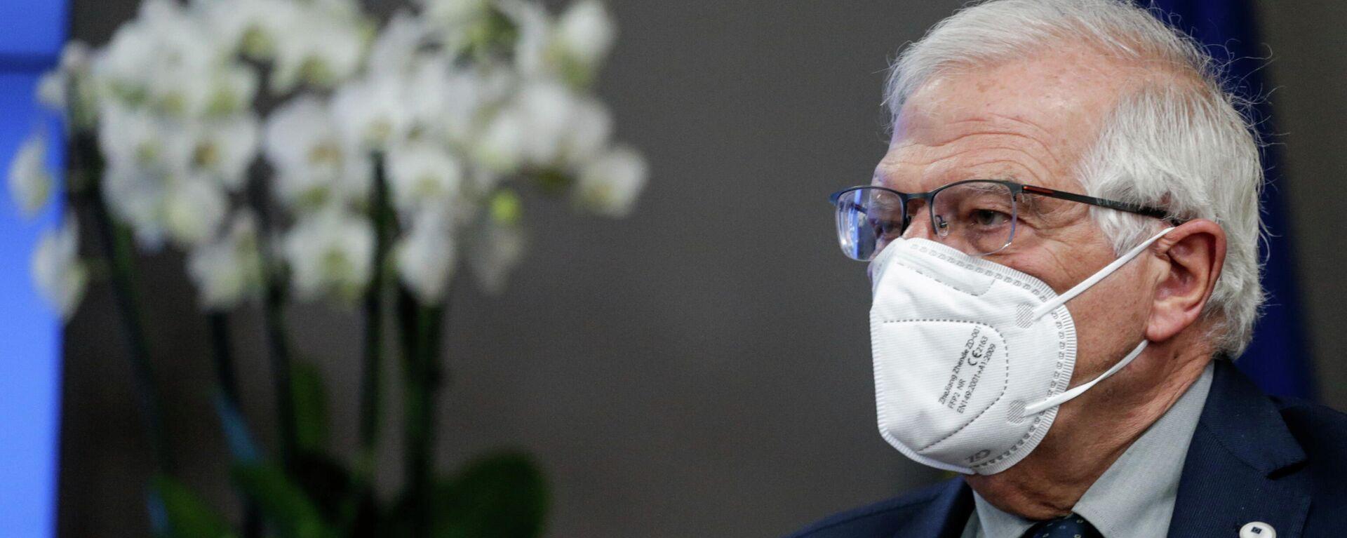 Josep Borrell, ministro de Asuntos Exteriores de la Unión Europe - Sputnik Mundo, 1920, 25.06.2021