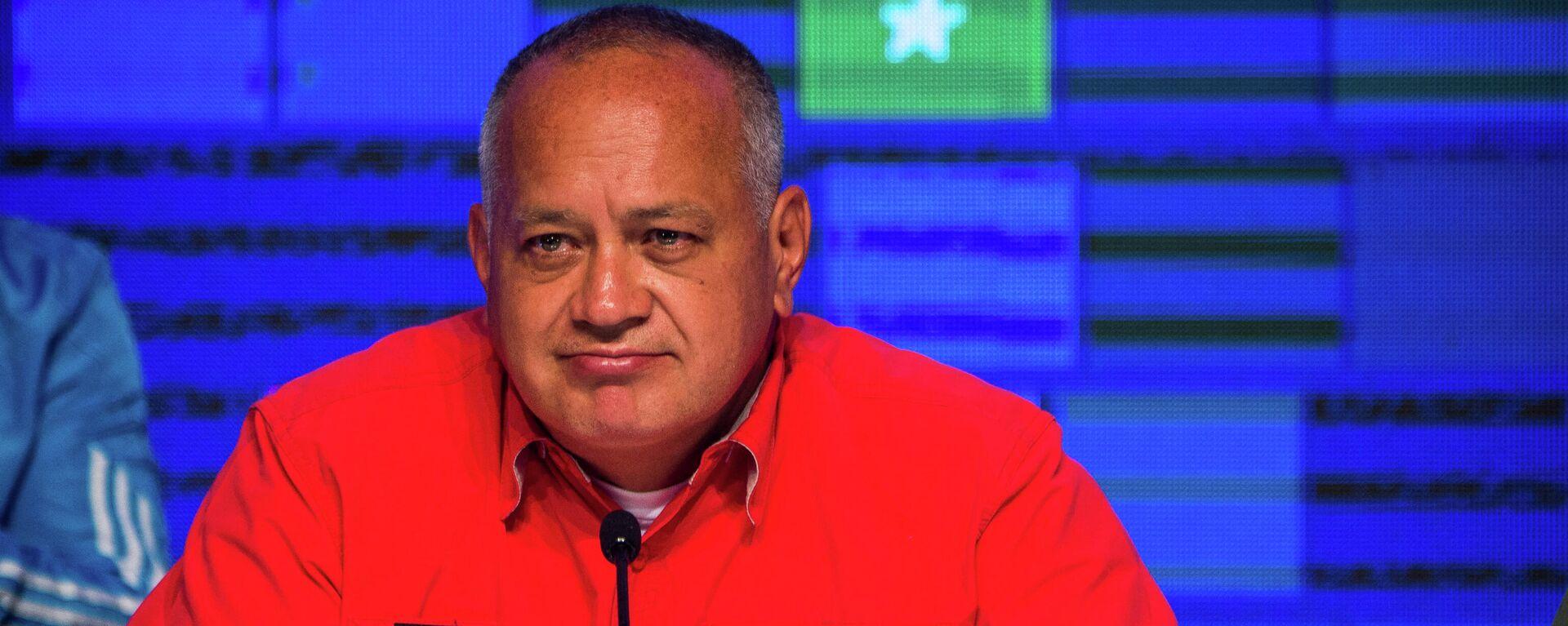 Diosdado Cabello, diputado y primer vicepresidente del PSUV - Sputnik Mundo, 1920, 13.07.2021
