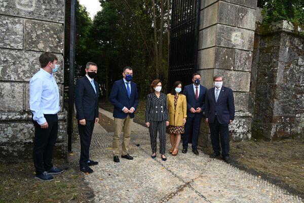 La residencia de verano de Franco, el pazo de Meirás, abre por primera vez como propiedad pública - Sputnik Mundo