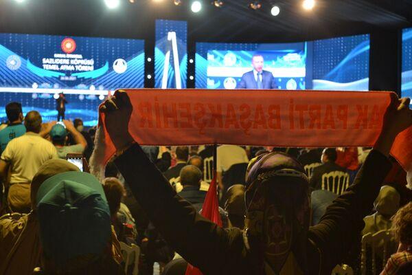 Erdogan da por iniciada la construcción del canal de Estambul - Sputnik Mundo