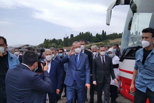 El presidente de Turquía, Recep Tayyip Erdogan, da inicio a la construcción del canal de Estambul - Sputnik Mundo